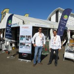 Steven and Chris at Eco Boats stand